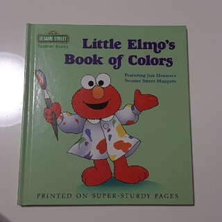 セサミストリート(SESAME STREET)の英語本  Little Elmo's Book of Colors セサミ(洋書)