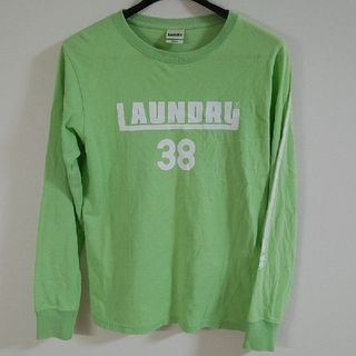 LAUNDRY - laundry ランドリー 長袖ティーシャツ ユニセックスMサイズ