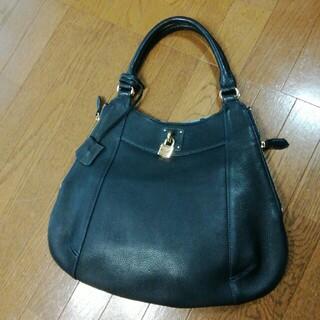 濱野皮革工藝/HAMANO - 濱野 HAMANO トートバッグ 紺色 ネイビー