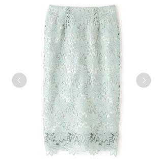 N.Natural beauty basic - N.♡ケミカルレースタイトスカート