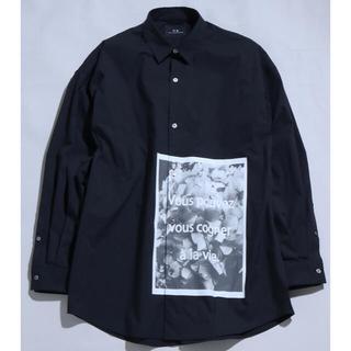 未着用MBハイエンドグラフィックシャツ ブラックLサイズ タグ付き(シャツ)