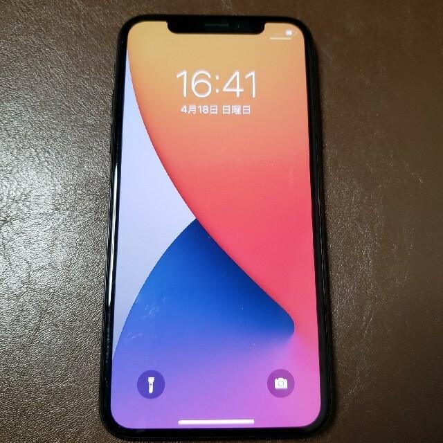 iPhone(アイフォーン)のあんころりん様i専用Phone X  64 GB au動作品 スマホ/家電/カメラのスマートフォン/携帯電話(スマートフォン本体)の商品写真