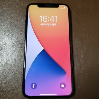 iPhone - iPhone X  64 GB au動作品