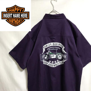 ハーレーダビッドソン(Harley Davidson)のHARLEY−DAVIDSON 半袖 B.Dシャツ(シャツ)