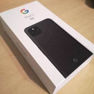 Google Pixel - 【新品・未使用】Google Pixel 5 Just Black