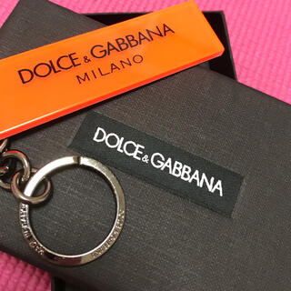 ドルチェアンドガッバーナ(DOLCE&GABBANA)の【新品・未使用・箱あり】DOLCE&GABBANA/キーホルダー【ドルガバ】(キーホルダー)