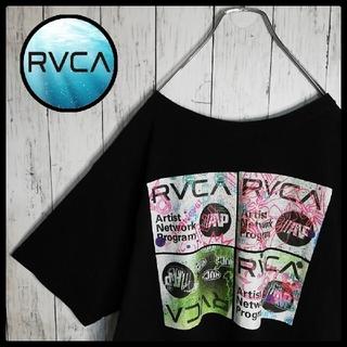 ルーカ(RVCA)の【ゆるだぼ】RVCA バックプリント クルーネックTシャツ オーバーサイズ(Tシャツ/カットソー(半袖/袖なし))