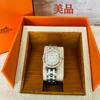 Hermes - 美品!HERMES(エルメス) クリッパー ナクレ レディース腕時計