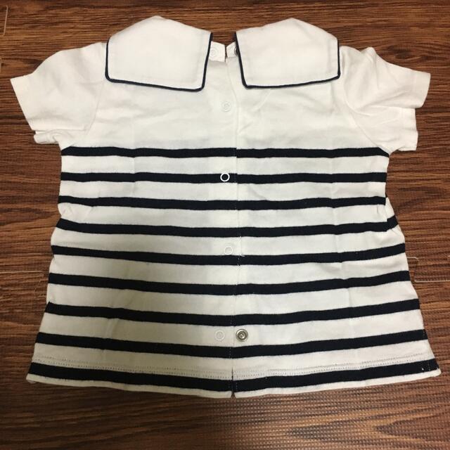 Ralph Lauren(ラルフローレン)のラルフローレン 半袖シャツ 80センチ キッズ/ベビー/マタニティのベビー服(~85cm)(シャツ/カットソー)の商品写真
