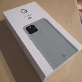 Google Pixel - 【新品・未使用】Google Pixel 5 Sorta Sage (緑)