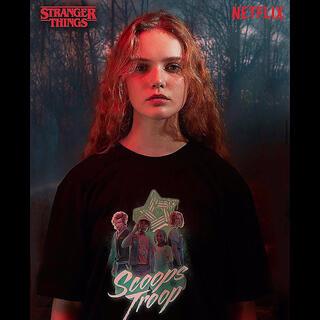 ストレンジャーシングス Tシャツ stranger things spao
