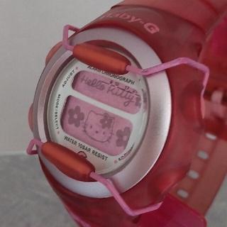 ハローキティ - Baby-G 380 ハローキティ カスタム染色ローズピンク💕
