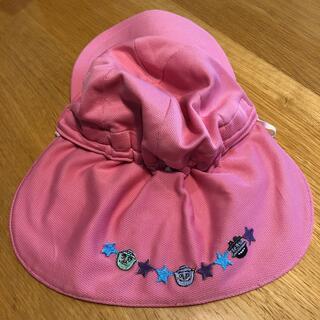保育園タレ付き帽子 ピンク(帽子)