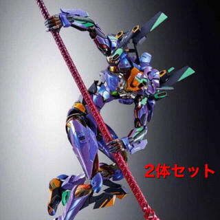 BANDAI - メタルビルド エヴァンゲリオン 初号期 2体セット