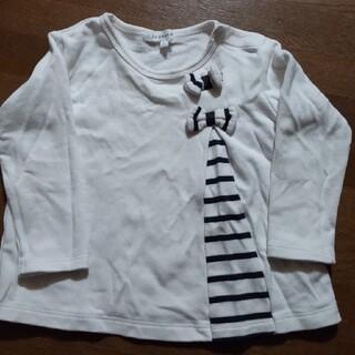 サンカンシオン(3can4on)の3can4on カットソー 白 90(Tシャツ/カットソー)