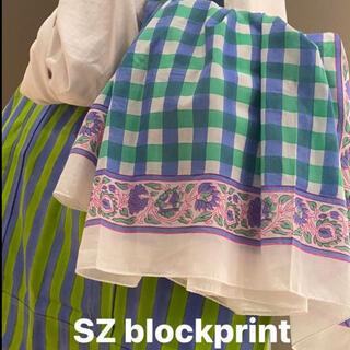 Ron Herman - SZ blockprints エスゼット ストール パレオ ロンハーマン