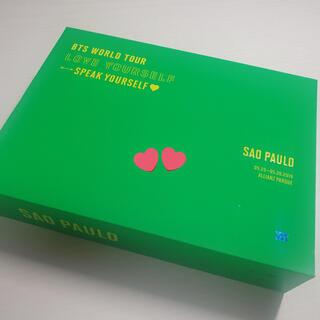 ボウダンショウネンダン(防弾少年団(BTS))のBTS LOVE YOURSELF サンパウロ DVD 日本語字幕付(ミュージック)