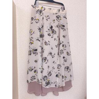 Mystrada - 新品☆マイストラーダ のフラワー柄フレアスカート☆38☆小花柄スカート☆