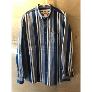 Supreme - Supreme / Nike Cotton Twill Shirt Blue