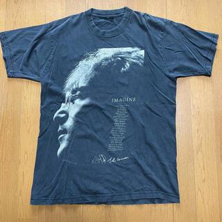 John Lennon ジョンレノン イマジン Tシャツ vintage 古着(ミュージシャン)