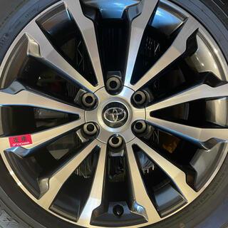 トヨタ - 【ほぼ新車外し】プラド純正タイヤホイール4本セット19インチ(ロックナット付き)