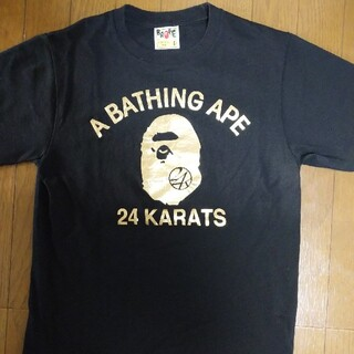 A BATHING APE - BAPE コラボTシャツ エイプ EXILE