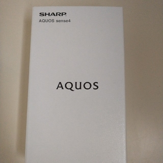 AQUOS - AQUOS sense4SH-M15 ブラック国内正規品 SIMフリー