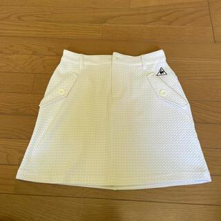 le coq sportif - ルコックゴルフ 白スカート