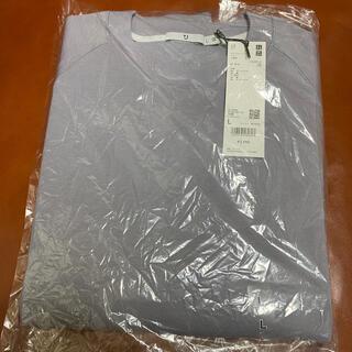 UNIQLO - 未使用 ユニクロ +J ドライスウェットシャツ グレー Lサイズ