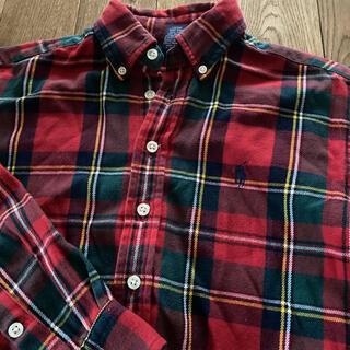 Ralph Lauren - キッズ ラルフローレンチェックシャツ ネルシャツ