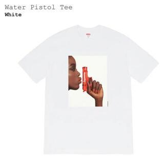シュプリーム(Supreme)の新品L Supreme Water Pistol Tee ホワイト(Tシャツ/カットソー(半袖/袖なし))