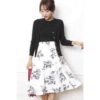 Apuweiser-riche - 水彩 花柄スカート