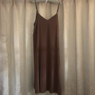 エルビーシー(Lbc)の【中古】LBC ジャンパースカート 美品(ロングワンピース/マキシワンピース)