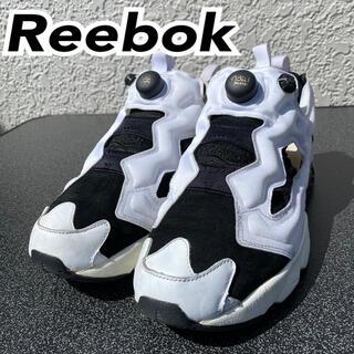 リーボック(Reebok)の【Reebok】早い者勝ち ポンプフューリー 白黒 28cm(スニーカー)
