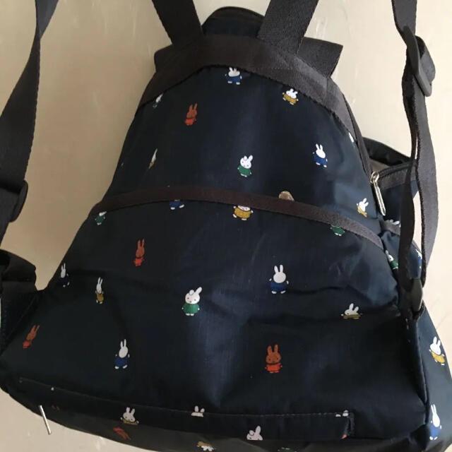 LeSportsac(レスポートサック)のレスポ2WAYリュック、ミッフィ レディースのバッグ(リュック/バックパック)の商品写真