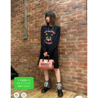 HYSTERIC GLAMOUR - HYSTERIC GLAMOUR レースアップバウンシングソールブーツ