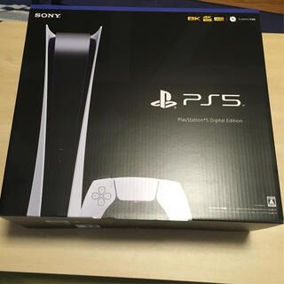 プレイステーション(PlayStation)のPS5 デジタルエディション 中古 美品(家庭用ゲーム機本体)