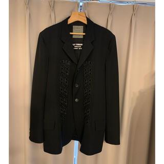 ヨウジヤマモト(Yohji Yamamoto)のヨウジヤマモト レプリカ1987ss ウールギャバジン 刺繍テーラードジャケット(テーラードジャケット)