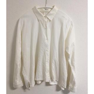 エヴァムエヴァ(evam eva)のevameva  コットンカシミアシャツ(シャツ/ブラウス(長袖/七分))