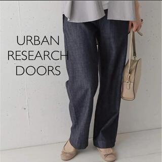 ドアーズ(DOORS / URBAN RESEARCH)のデニムワイドパンツ アーバンリサーチドアーズ(デニム/ジーンズ)