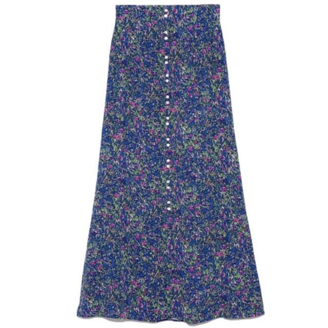 FRAY I.D(フレイアイディー)のフレイアイディー FRAY I.D★フレア ナロー ロングスカート レディースのスカート(ロングスカート)の商品写真