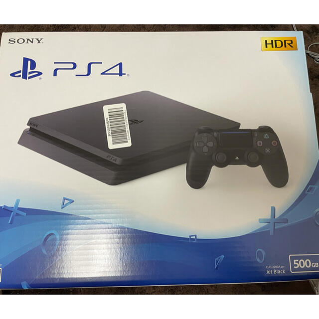 PlayStation4(プレイステーション4)のSONY PlayStation4 本体 CUH-2200AB01 エンタメ/ホビーのゲームソフト/ゲーム機本体(家庭用ゲーム機本体)の商品写真