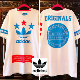 adidas - アディダス オリジナルス 人気☆ スター ビッグロゴ タンクトップ Tシャツ