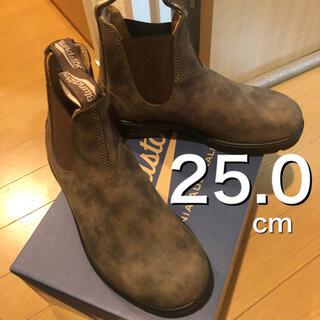 ブランドストーン(Blundstone)の【新品未使用】上位モデル ブランドストーン UK5  ラスティックブラウン(ブーツ)
