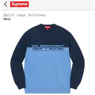 Supreme - Supreme Split Logo Pullover / L size