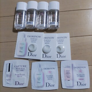 Dior - ディオール スノー スノー SNOW 化粧水 美容液 乳液 サンプル