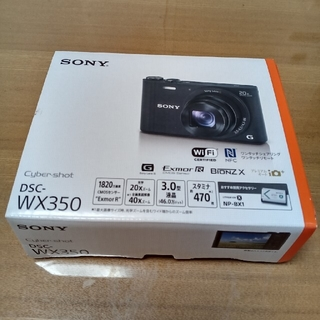SONY - SONYデジタルカメラWX350