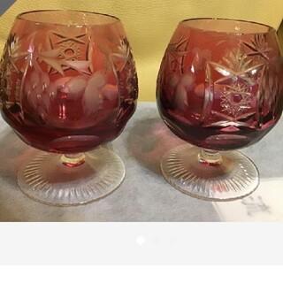 ナハトマン(Nachtmann)の【大特価!】西ドイツ ナハトマン アンティーク 素敵なペアグラス(グラス/カップ)