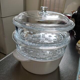 ガラス製蒸し器