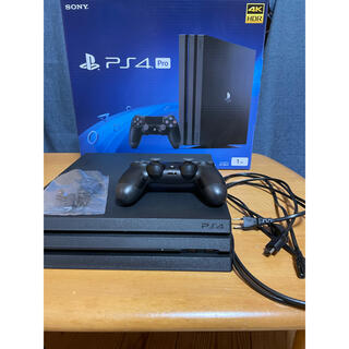 PlayStation4 - PS4 PRO 1TB JET BLACK
